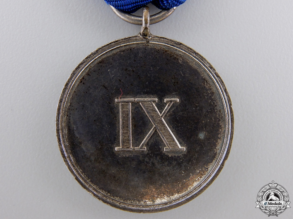 A Prussian Military Long Service Medal; 3rd Class
