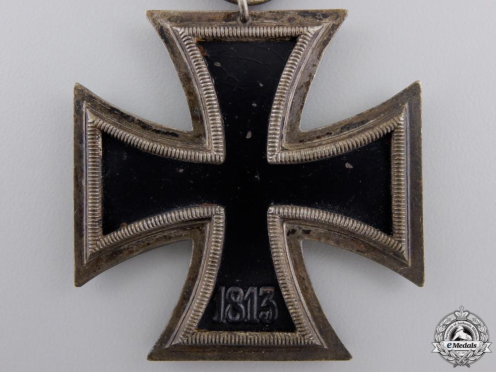 An Iron Cross Second Class 1939 by Ernst L. Müller