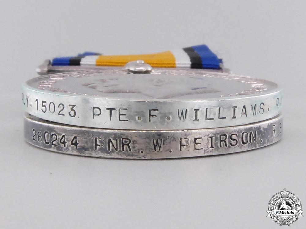 Two First War British War Medals
