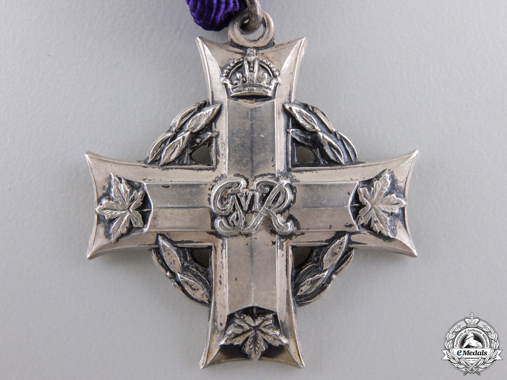 An RCAF Memorial Cross for Dark Radar Exercise 1944