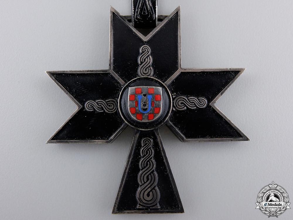 A Croatian Order of Iron Trefoil; First Class