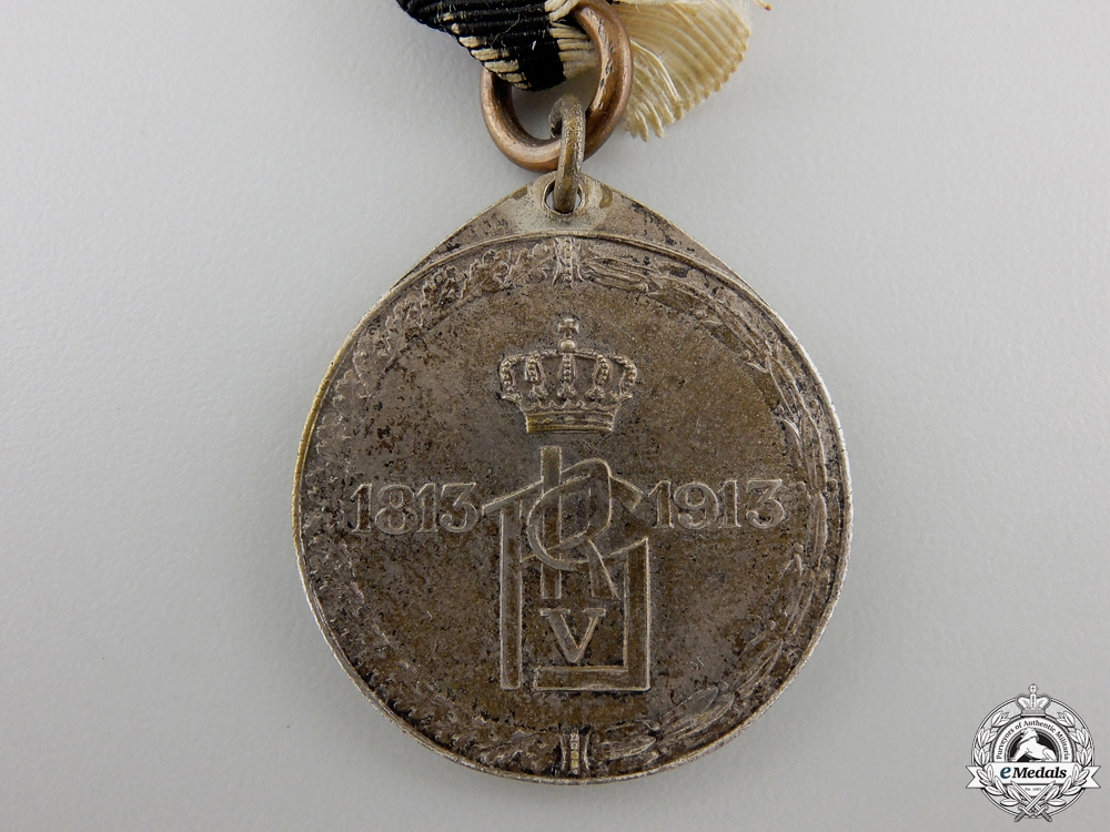 A 1813-1913 Prussian King's German Legion Medal