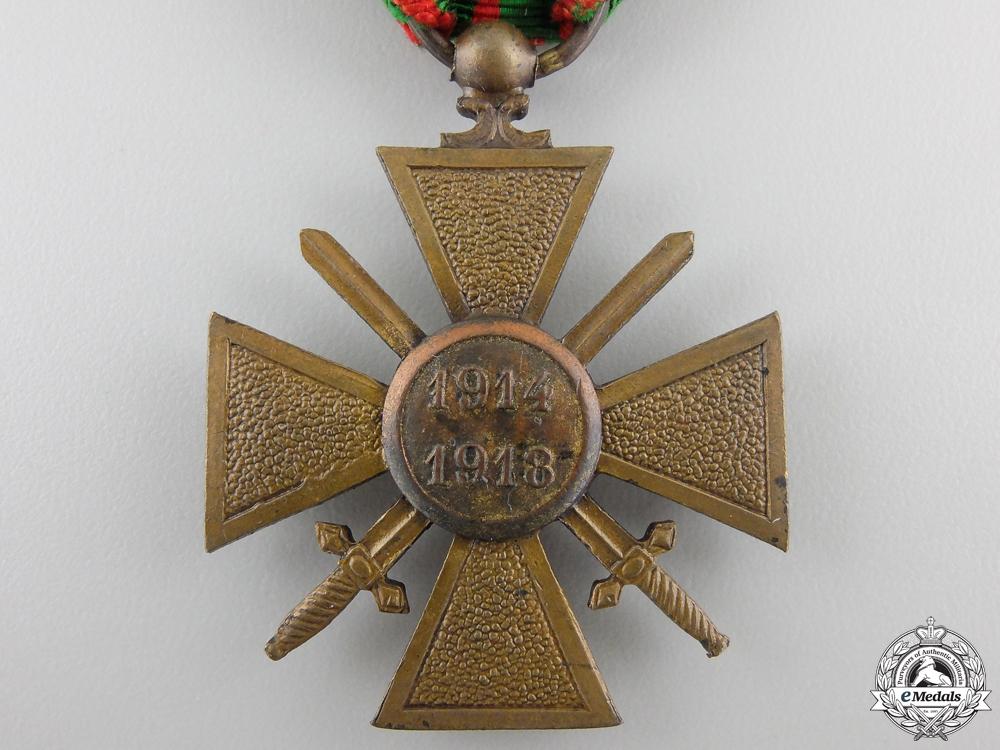 A First War 1914-1918 French War Cross