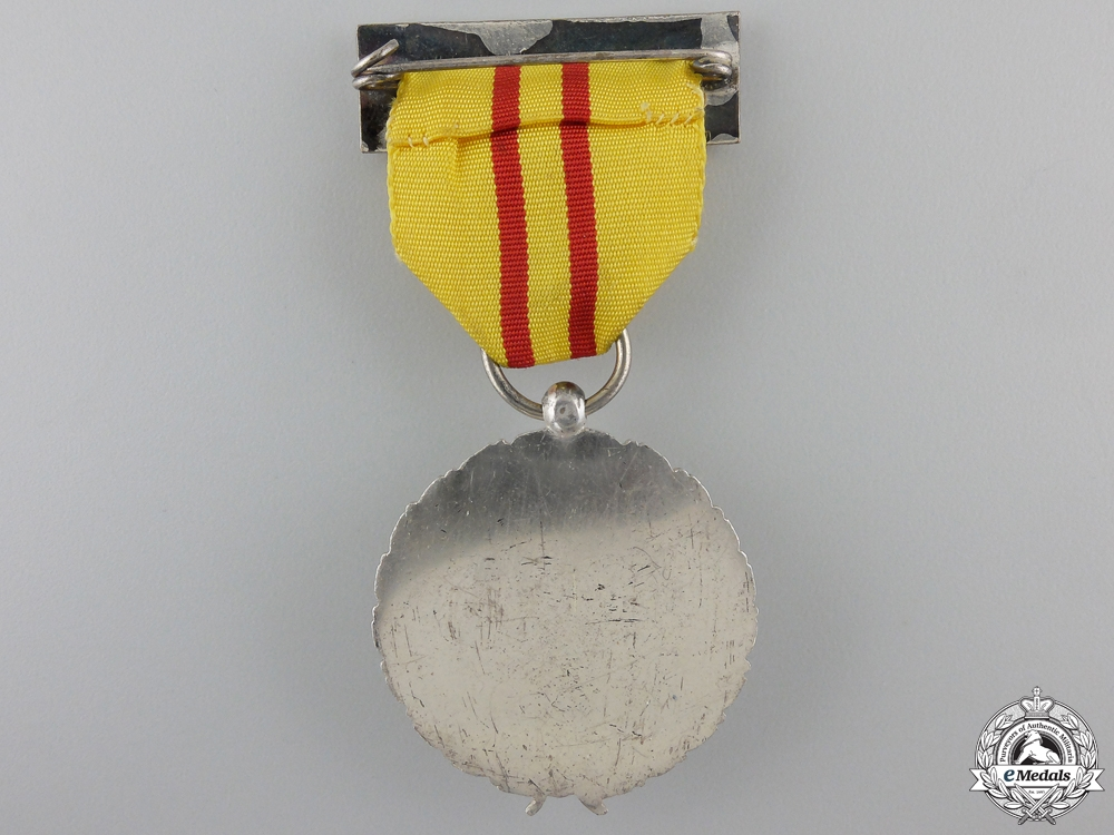 A Spanish Civil War Period Patriotic Suffering Medal for Foreigners, Silver Grade for NCOs and Enlisted Men