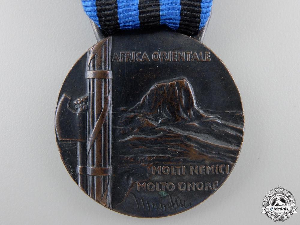 An Italian East Africa Medal