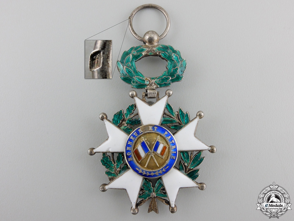 A French Legion D'Honneur; Knight, Third Republic (1870-1951)