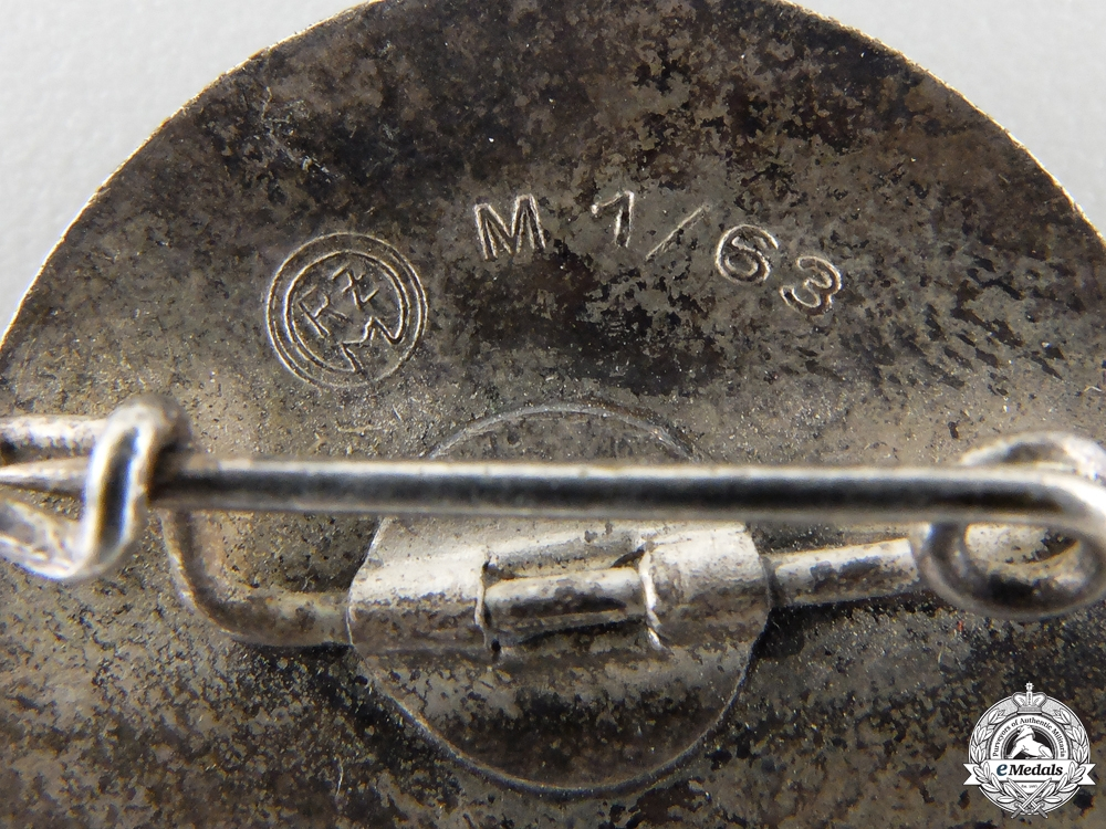 An HJ Badge for Snipers by  Steinhauer & Lück