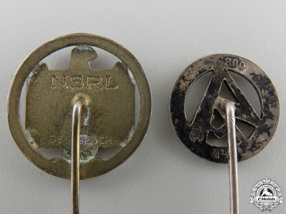 Two Third Reich Stickpins