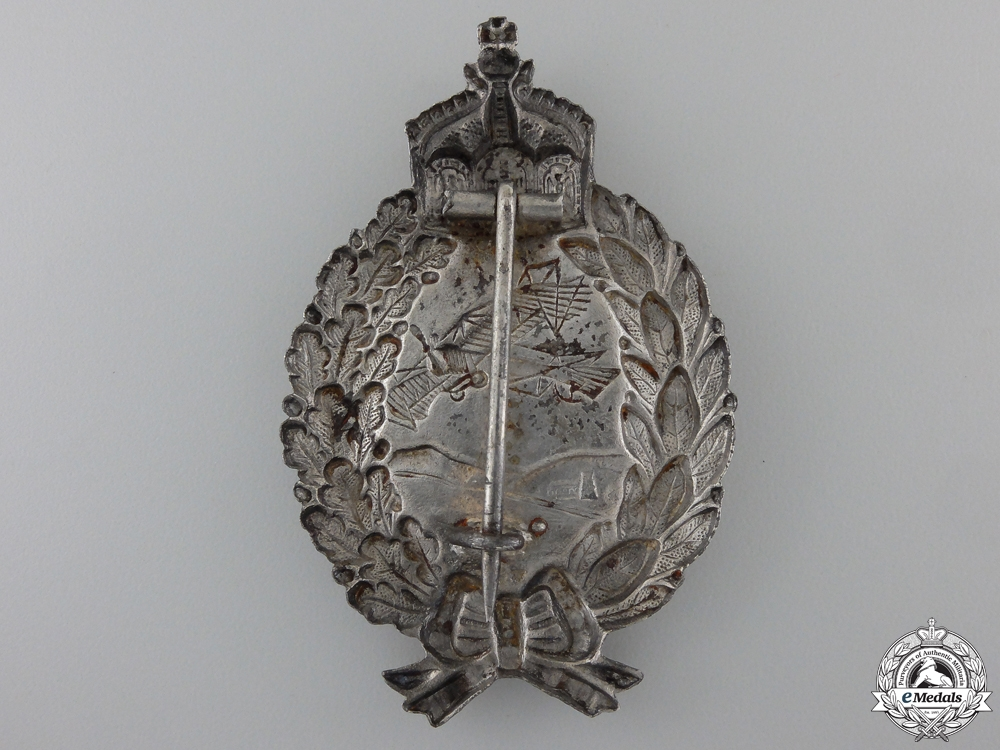 A First War Prussian Pilot's Badge; c.1917-18
