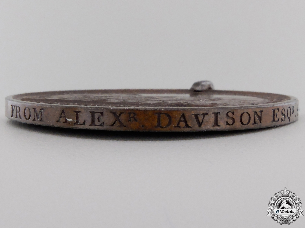 Alexander Davison's Medal for The Nile 1798