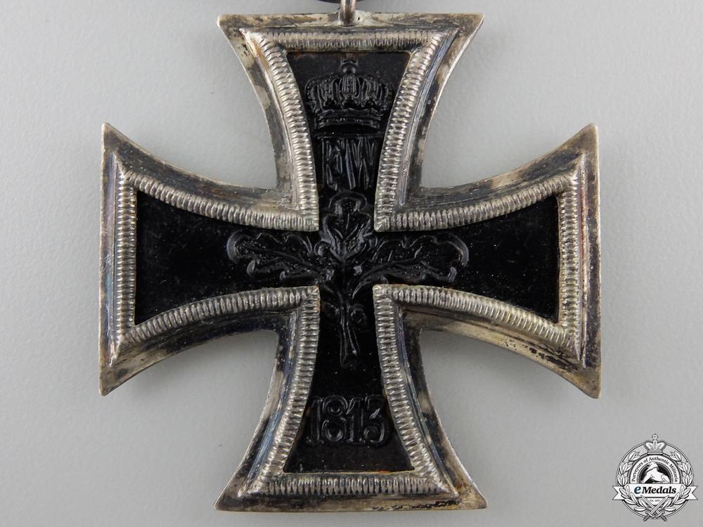 An Iron Cross Second Class 1914; Marked LV