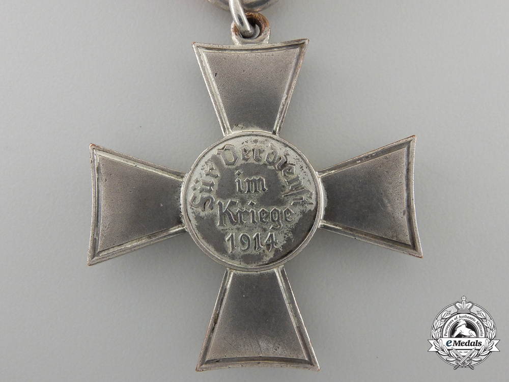 A 1914 Lubeck Hanseatic Cross