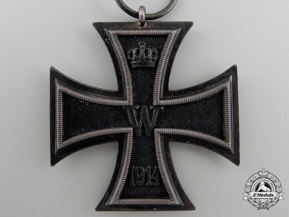An Iron Cross Second Class 1914 Watch Fob