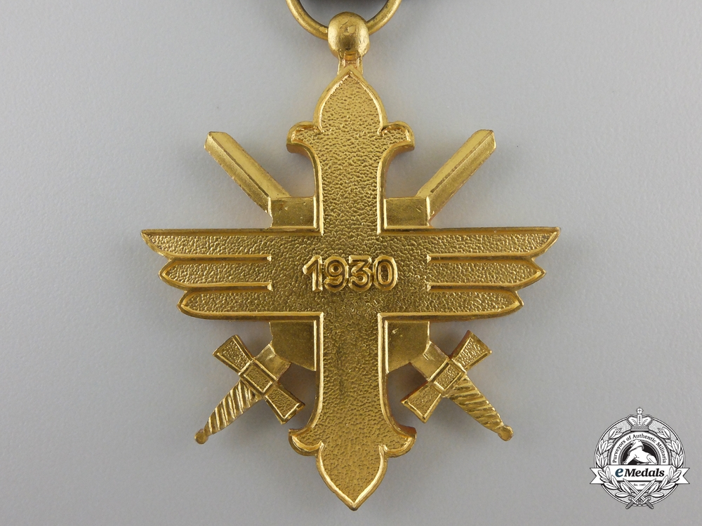 A royal romanian air force bravery decoration 1st class for Air force decoration