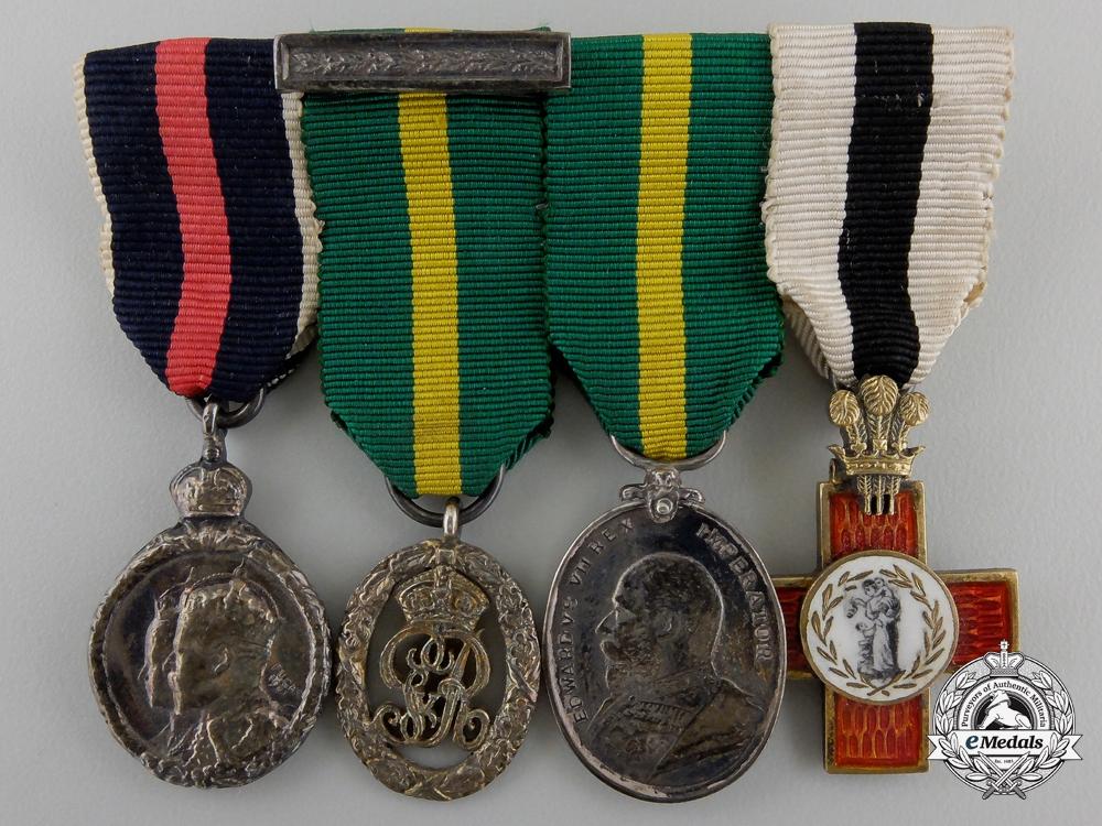 A Fine Edward VII Miniature Group