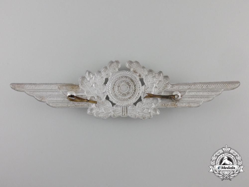 A Luftwaffe Visor Wreath with Cockade and Visor Eagle