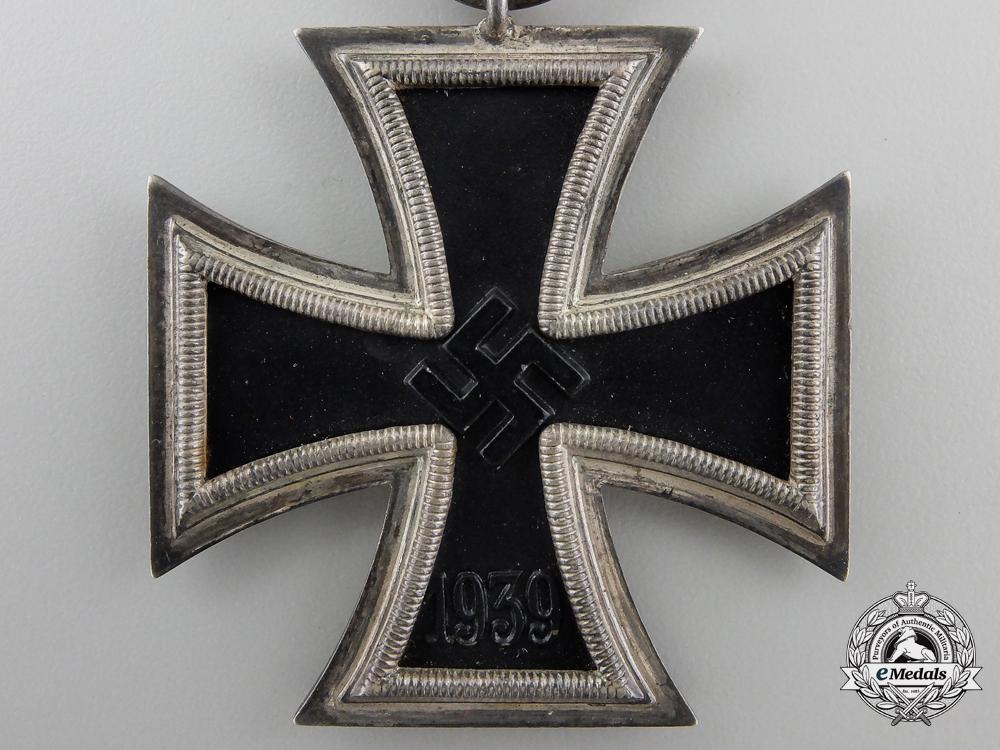 A Mint Iron Cross Second Class 1939 by Wilhelm Deumer