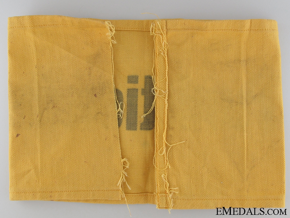 1936 München Olympics Official's Armband