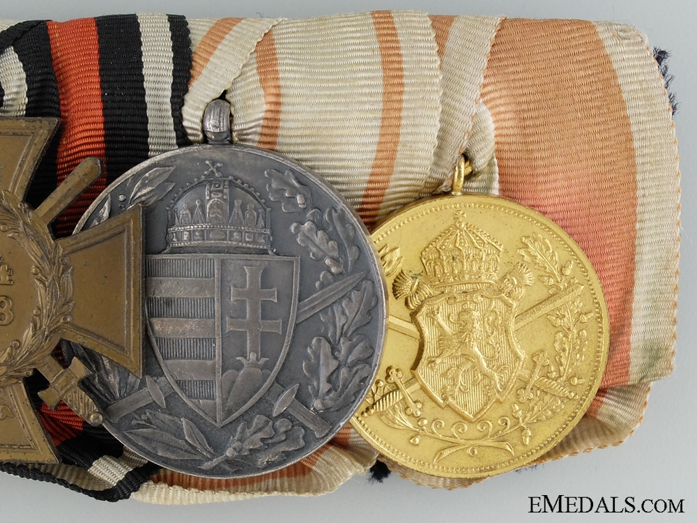 Imperial Medal Bar with Four Awards