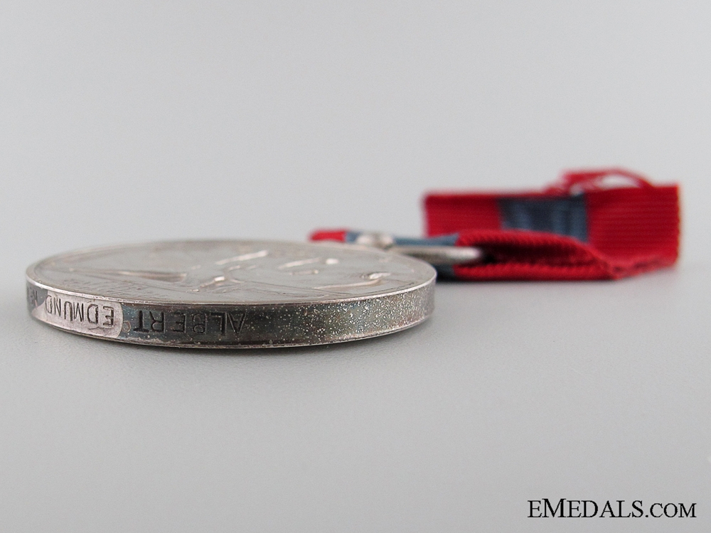 Imperial Service Medal to Albert Edmund Newton