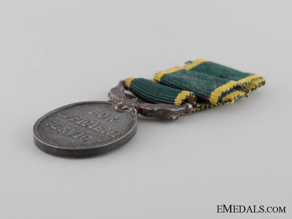Miniature Efficiency Medal