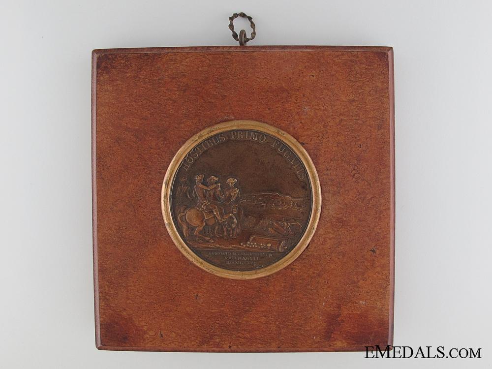 1776 Washington Before Boston Table Medal