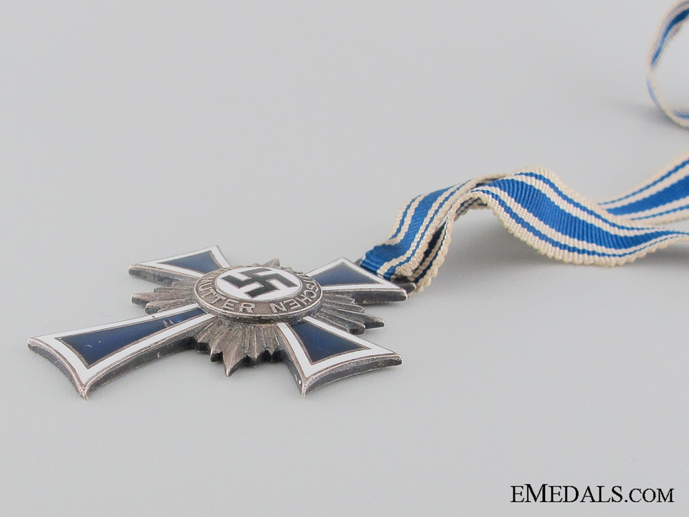 German Mother's Cross; Silver Grade