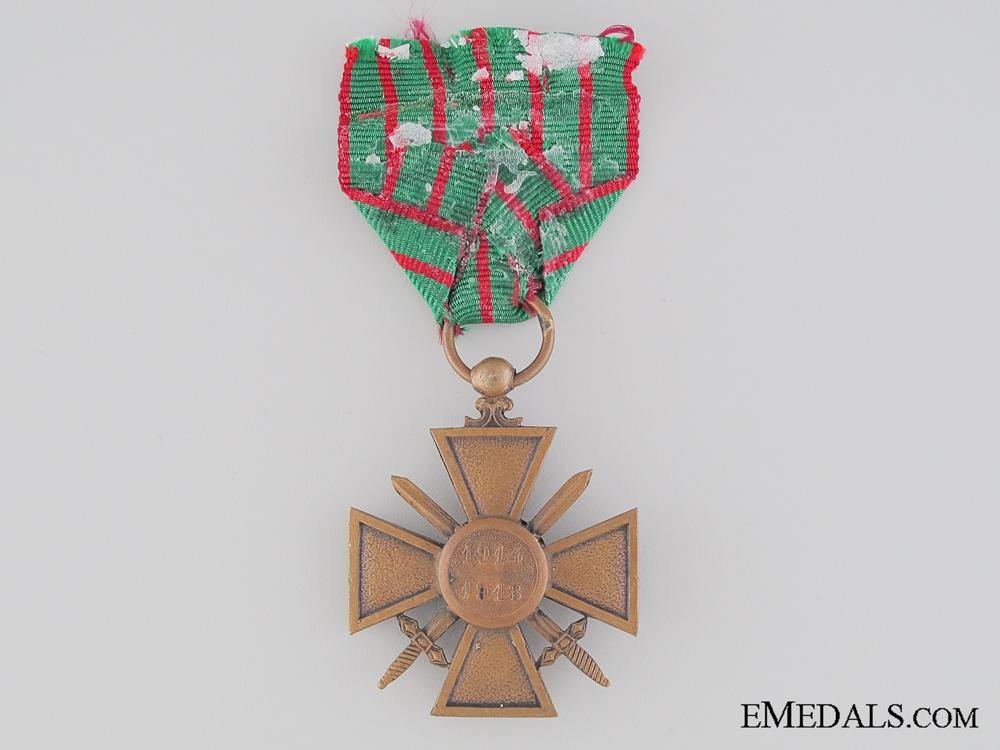 WWI French War Cross 1914-1918