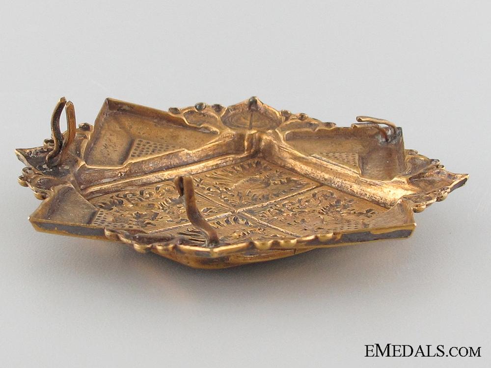 Chechoslovakia, 1919-1945 Bohemia-Moravia Gendarmerie Helmet Plate