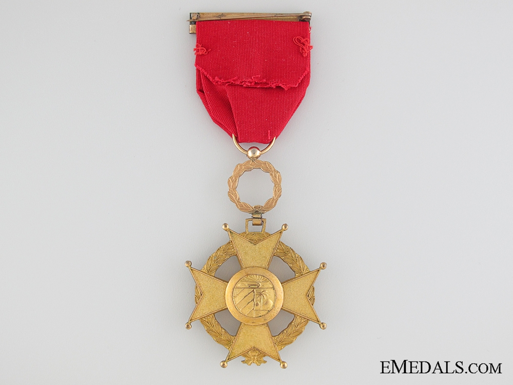 Cuban Order of Military Merit, 4th Class, Military, For Bravery in Combat