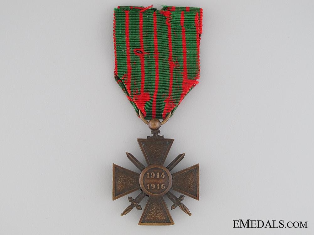 A French War Cross 1914-1918