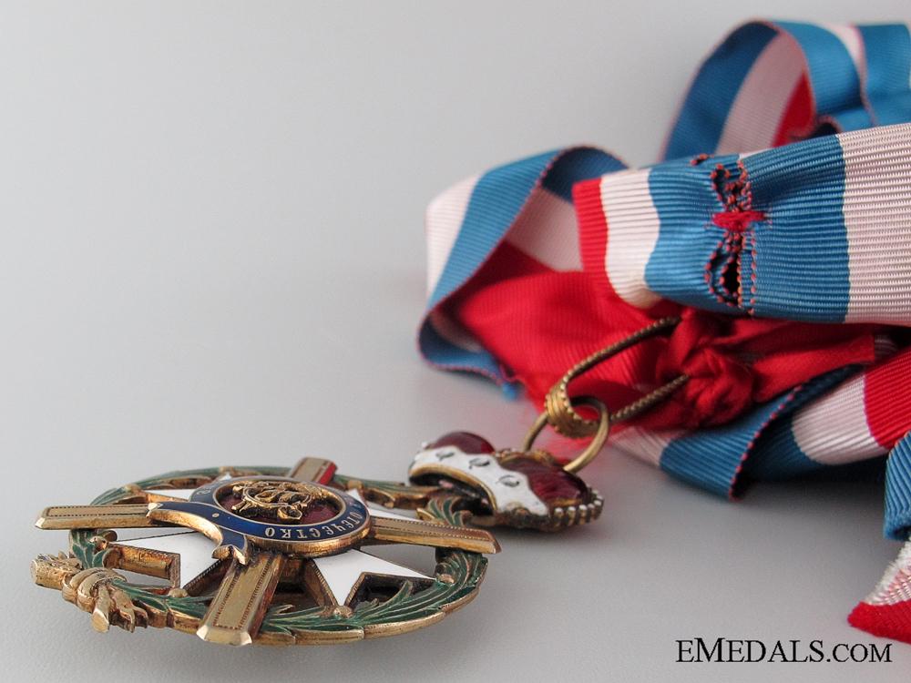 The Order of the Cross of Takovo; Grand Cross