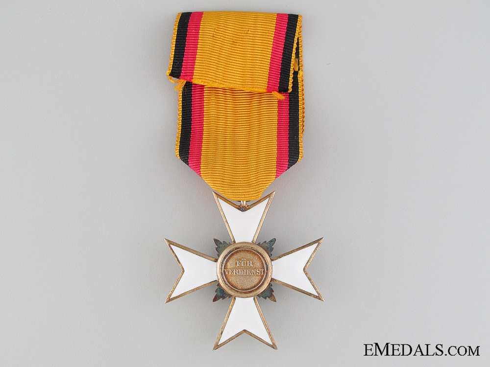 Waldeck Merit Cross; 3rd Class