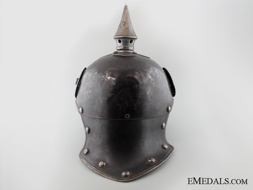 """A Cavalry """"Jäger zu Pferde"""" Lobster Tail Pickelhaube"""