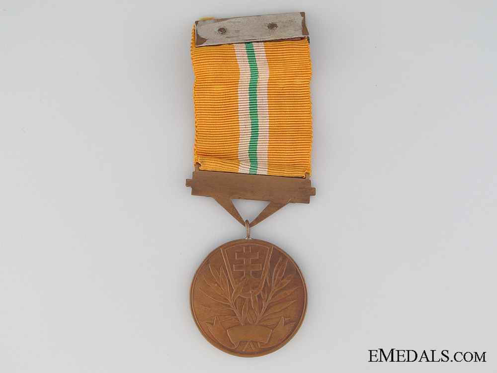A Slovakian WWII Bravery Medal