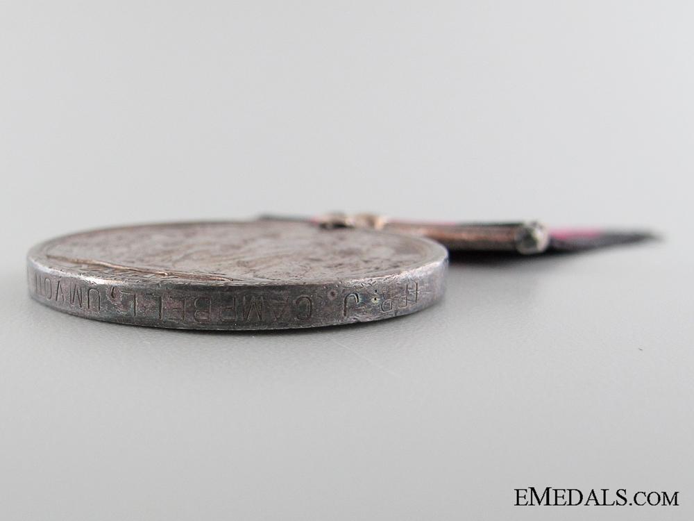 1907 Natal Rebellion Medal to Trooper Campbell