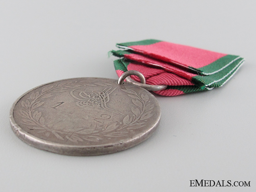 Turkish Crimea Medal 1855; Sardinian issue