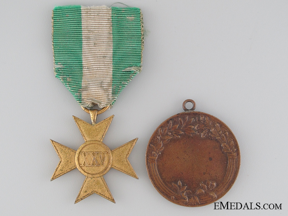 Two Italian Medals
