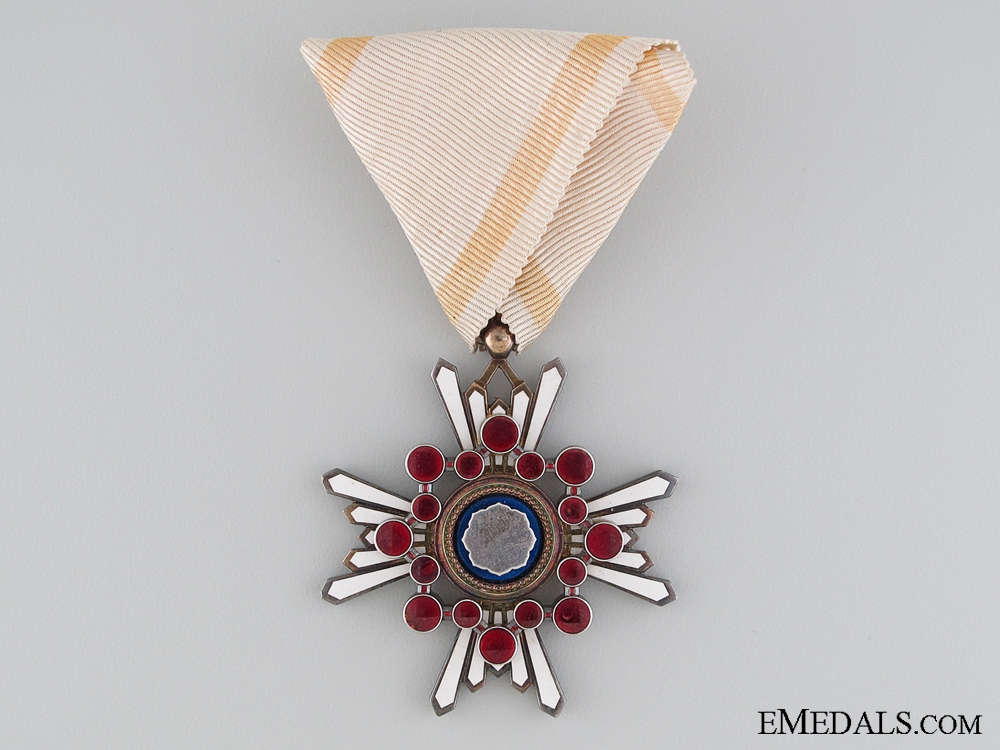 The Order of the Sacred Treasure; 5th Class