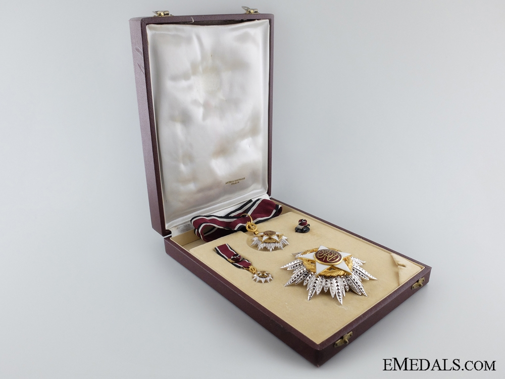 A French-Made Order of Independence (Al Istiklal); Commander's Set