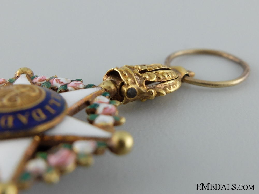 A Miniature Order of the Brazilian Rose in Gold