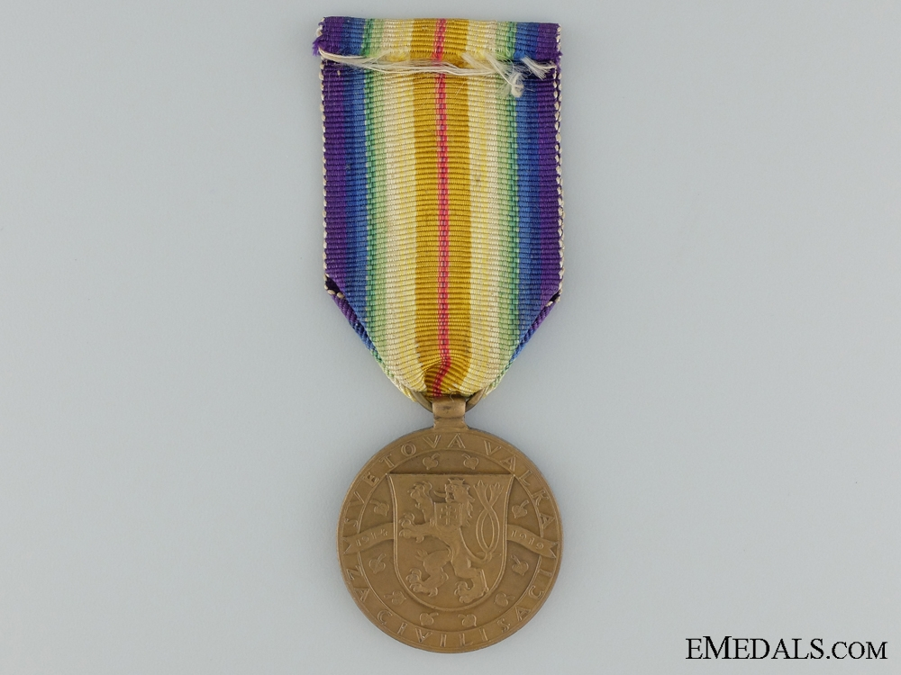 WWI Czechoslovakian Victory Medal; Type I