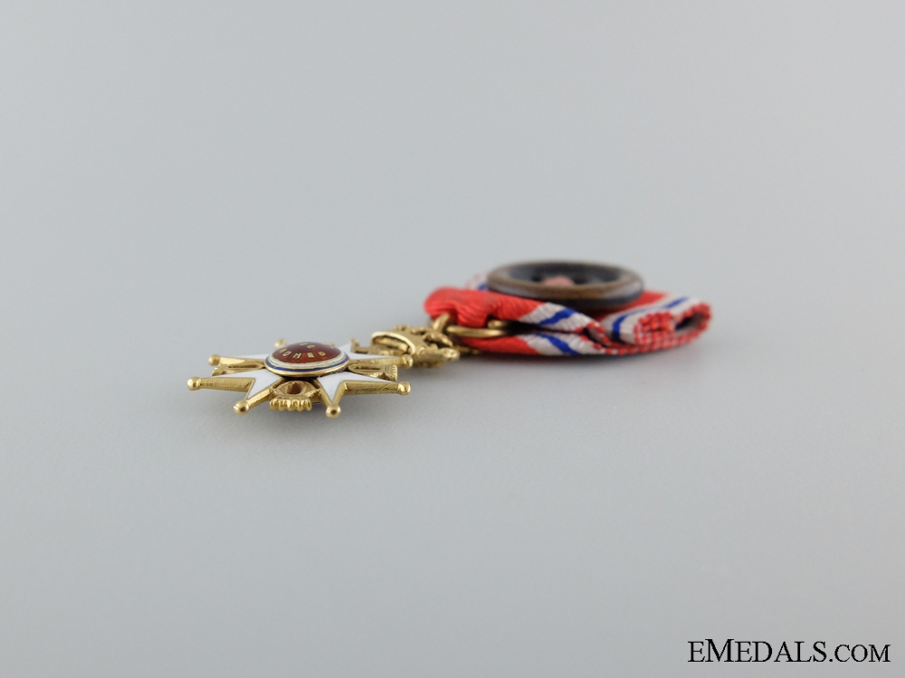 The Royal Norwegian Order of St. Olav Miniature; Type II