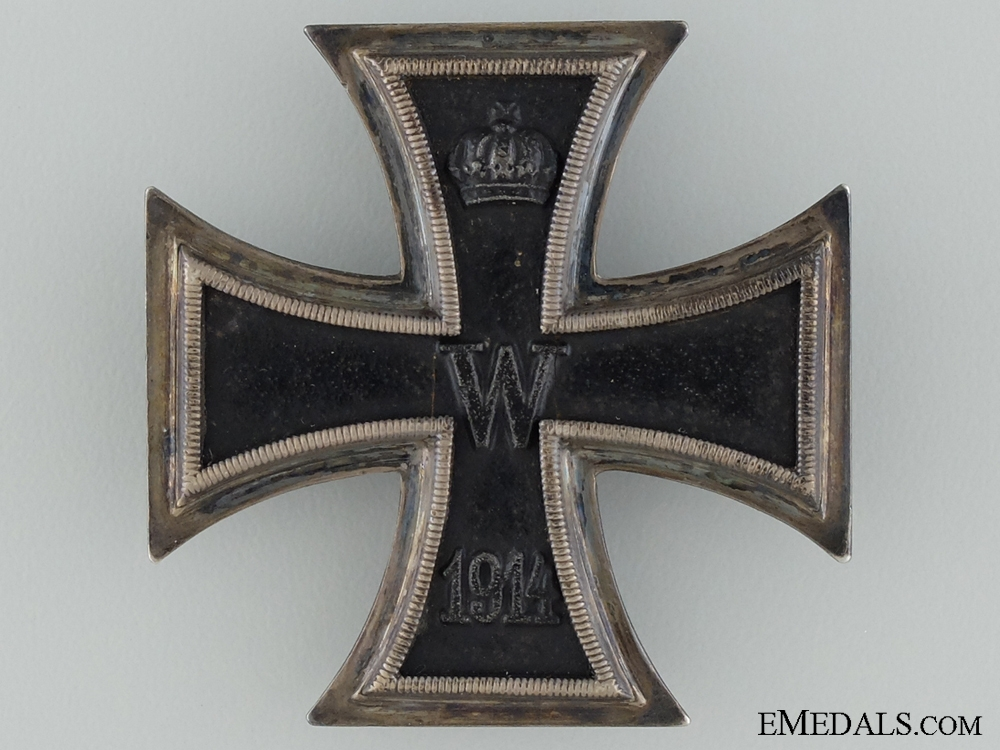 1914 Iron Cross First Class; Marked K.A.G; Cased