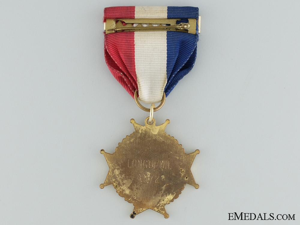 1942-72 30th Anniversary of Dieppe Medal