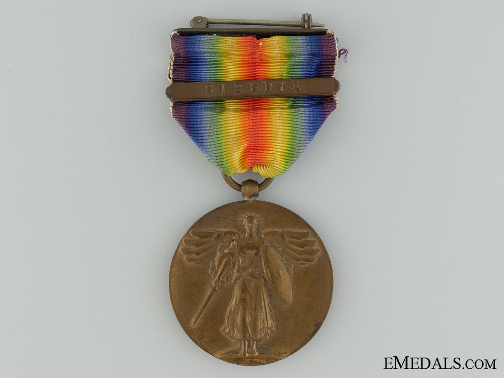 A Japanese WWI Victory Medal with Siberian Clasp