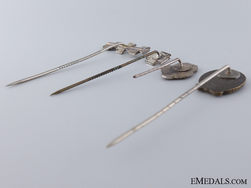An Imperial Group of Four Stickpins