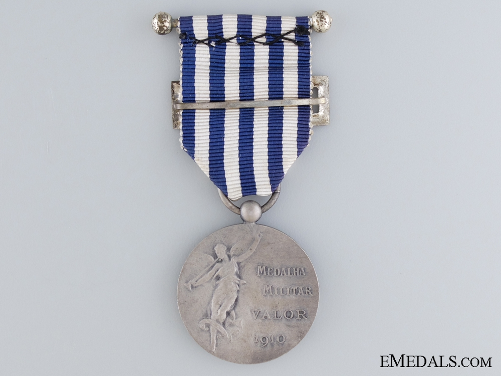 A 1910 Portuguese Medal of Military Valour