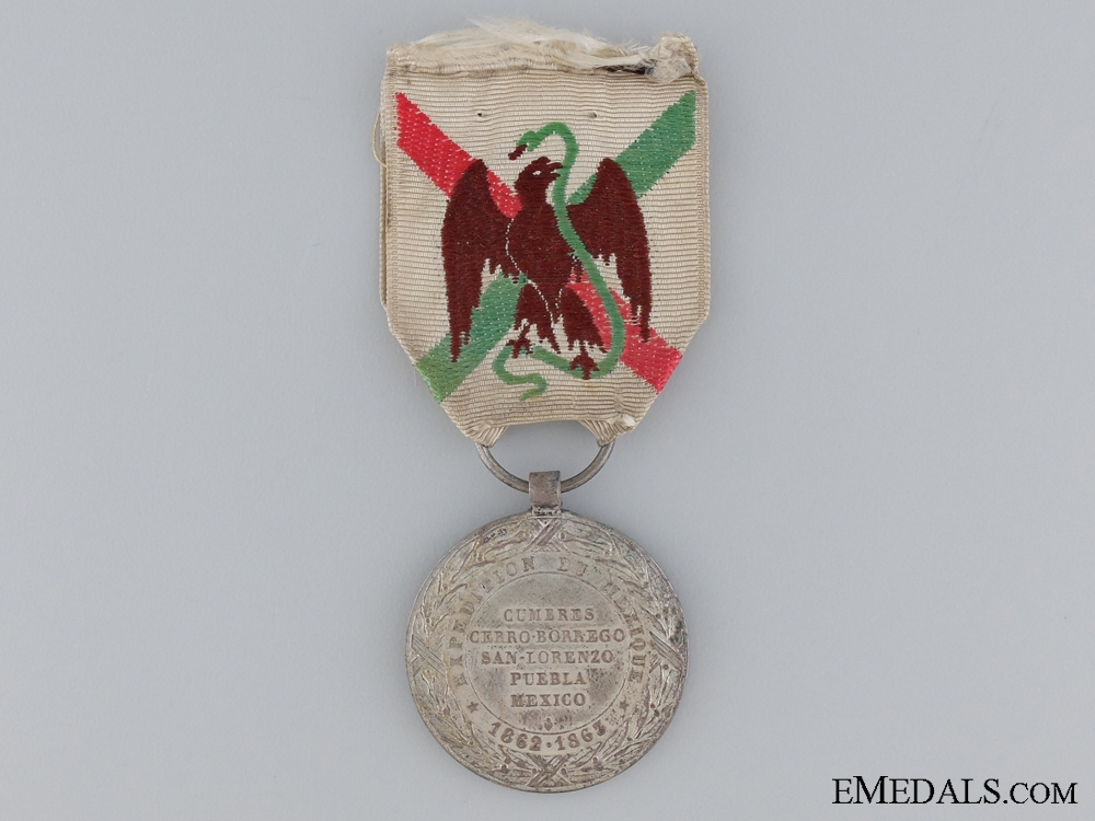 1862-1865 French Mexico Campaign Medal