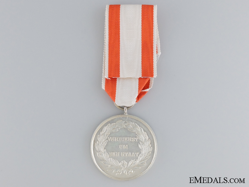 A Prussian Military Merit Medal; Second Class